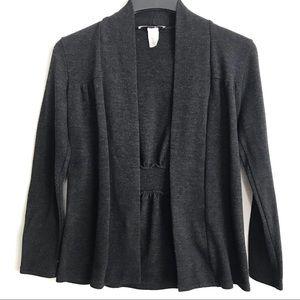 🛍 2/$10 🛍 Cardigan Grey Black Long Sleeve